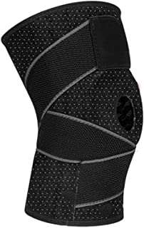 c28913f1c8 WPCBAA Double Side Four Spring Support Eight Character Sports Knee Pads  Basketball Men and Women Meniscus
