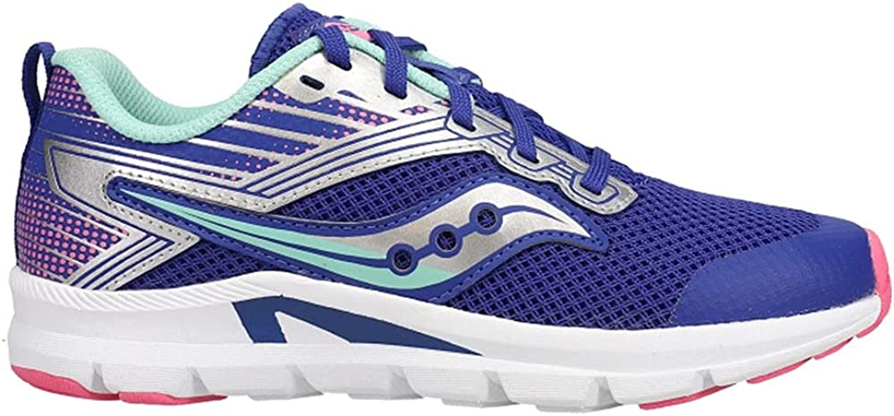 Saucony AXON Running Shoe Luxury Blue Cheap mail order specialty store Turq Unisex Kid US Big Pink 6