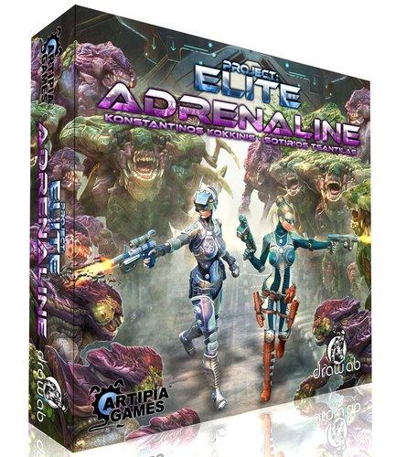 Unbekannt Artipiagames ARP01011 - Project: Elite - Adrenaline Expansion Spiel