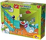 Lisciani Giochi- Puzzle SUPERMAXI 108pz MALEDETTI SCARAFAGGI 52844 Oggy, Multicolore