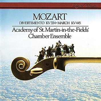 Mozart: Divertimento, K. 344; March in D, K. 445