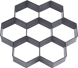 DaysAgo Molde de pavimentadora de concreto para Fbricar DIY piedra de paseo de Patio Molde reutilizable para fabricar patio 30 * 30 cm