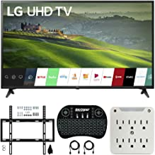 LG 49UM6900 49-inch HDR 4K UHD Smart IPS LED TV (2019) Bundle with Deco Mount Flat Wall..