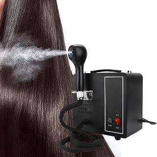 Blue Light Nano Hydrating Hair Sprayer Scalp Treatment Hair Care Sprayer Machine for Personal Care Use at Home Or Salon,Black