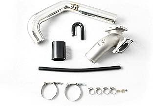 Galaxy Auto High Flow Y-Bridge & Intercooler Pipe Kit Compatible with 2006-2010 GMC Chevy 6.6L LBZ LMM Duramax Diesel