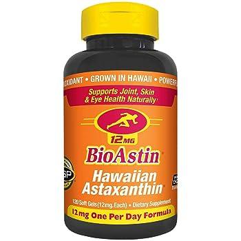 Nutrex Hawaii Bioastin Hawaiin Astaxanthin 12mg - 120 Count