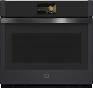 GE Profile PTS7000FNDS 30 Inch Electric Single Wall Oven in Black Slate