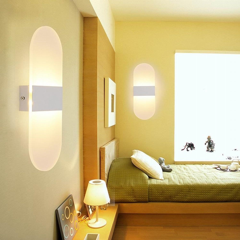 BESPD Kreative Led 40 X 16 cm Acryl taste Wandleuchte Schlafzimmer Nachttischlampe Korridor