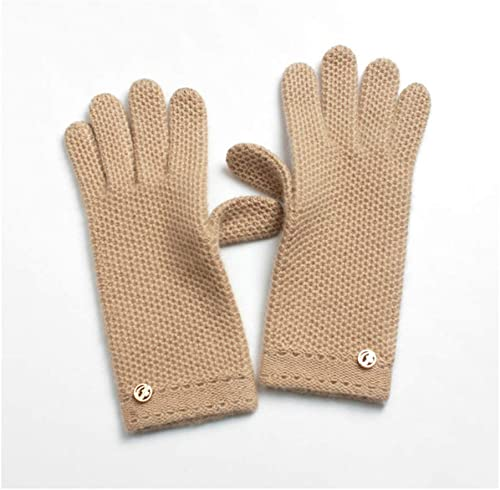 DSADDSD Les Gants d'écran Tactile, Sports de Plein air d'hiver de Gants de Tricot d'équitation chauffent Les Gants Chauds de Les Les dames
