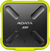 ADATA SD700 3D NAND 256GB Ruggedized Water/Dust/shock Proof External Solid State Drive Yellow (ASD700-256GU3-CYL)