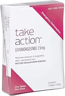 Take Action Emergency Contraceptive , Levonorgestrel 1.5mg