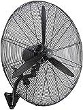 Byakns Negocio en casa for Uso Industrial/Comercial / / Invernadero Residencial Ajustable 120 ° Montaje oscilante Pared Fan - Resistente Ventilador Pared del Metal (Size : 65CM(26inch))