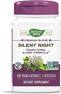 Nature's Way Silent Night Sleep Formula, 440 mg, 100 Vcaps