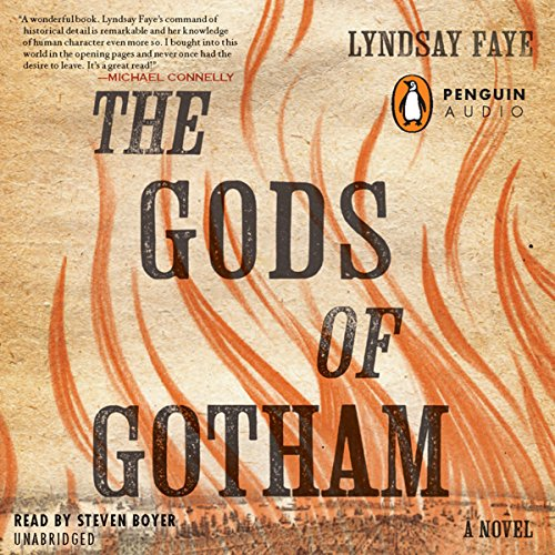 The Gods of Gotham audiobook cover art