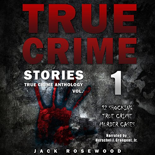 True Crime Stories: 12 Shocking True Crime Murder Cases audiobook cover art