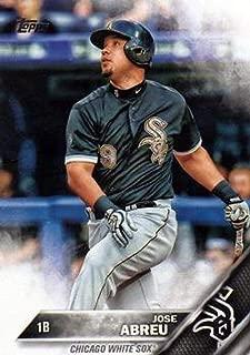 2016 Topps Variation #173B Jose Abreu SP Camo - Chicago White Sox (Short Print) NM-MT MLB (VAR: Black jersey w/camo letters and logo)