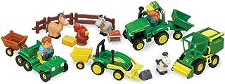 TOMY John Deere Farm Toy Set, Preschool Toy