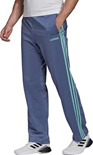 adidas Men's Essentials 3-Stripes Open Hem Tricot Pant