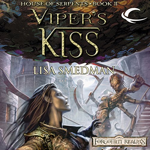 Viper's Kiss audiobook cover art