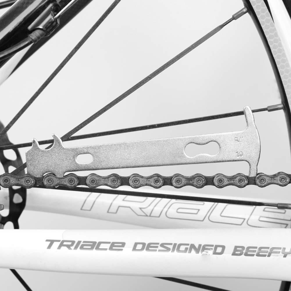 Cadena de Bicicleta Cadena de la Bicicleta del Inspector Desgaste ...