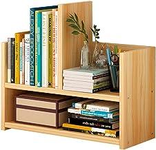 LHQ-HQ Kids Book Shelf Desktop racks eenvoudige kleine boekenkast vloer creatieve boekenplank hout kleur 43x39x17cm boekstand