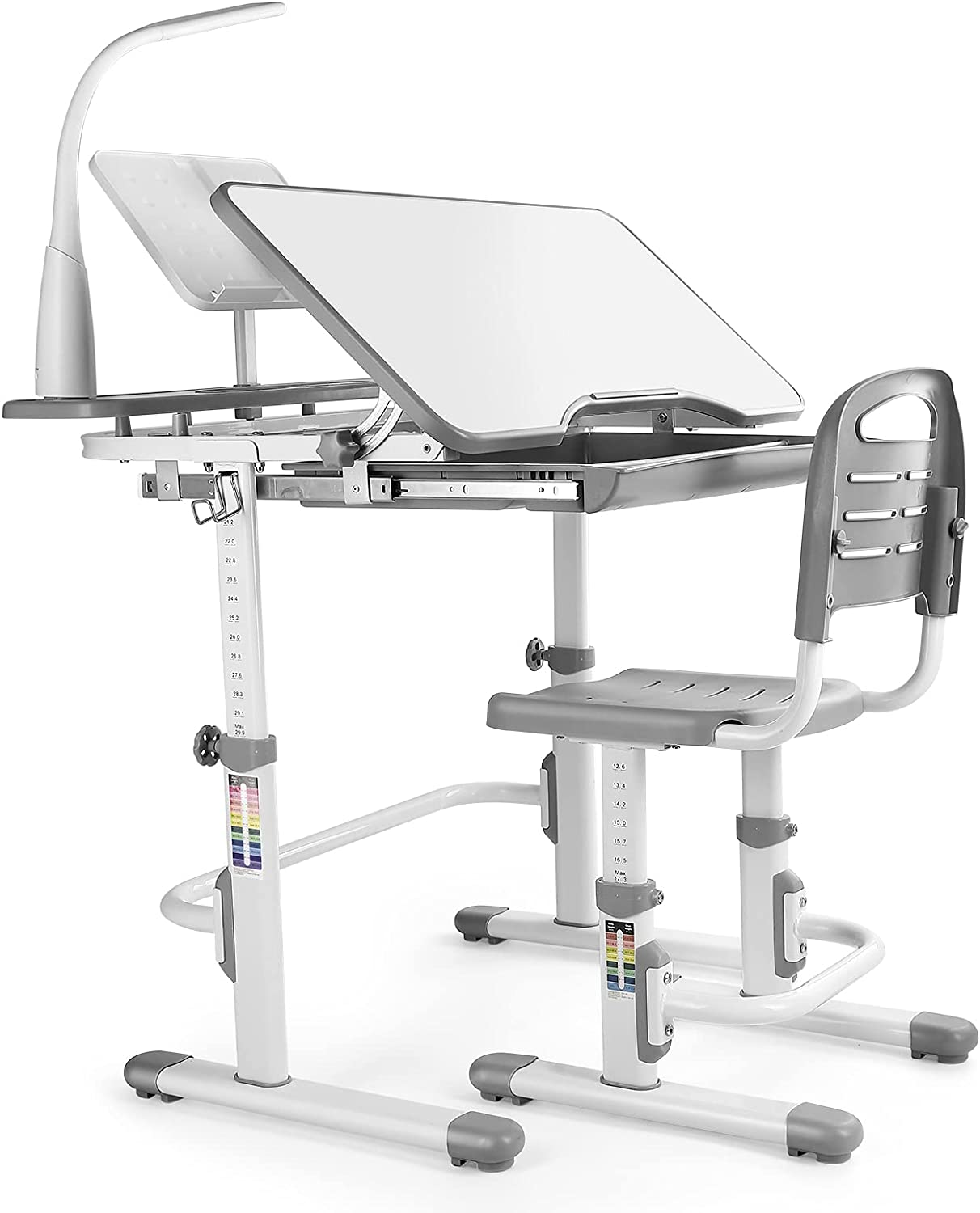 Bysesion GT2-XJ Kids Desk Raleigh Mall and Chair low-pricing Set Table Storage Children L