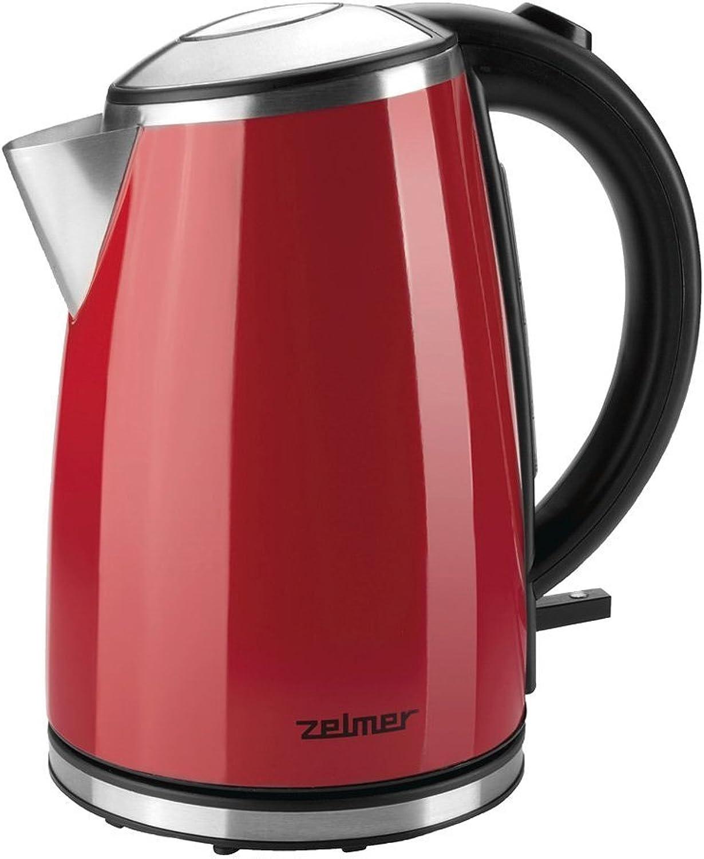 buena reputación Zelmer CK1020 1.7L 2200W Rojo - Tetera eléctrica (1,7 (1,7 (1,7 L, Rojo, Acero inoxidable, Pedal, 2 ao(s), 2200 W)  punto de venta