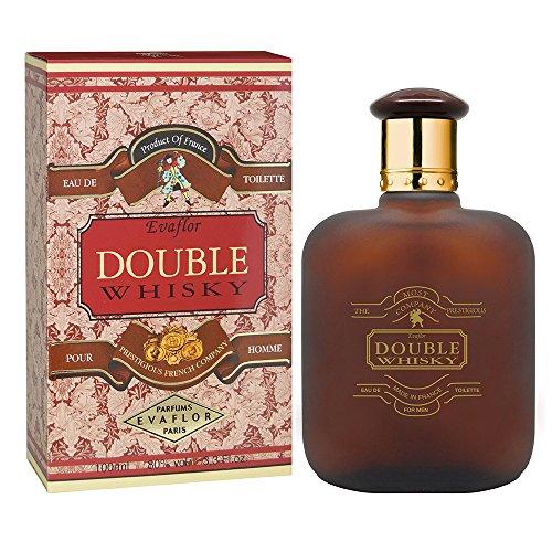 WHISKY DOUBLE • Eau de Toilette 100 ml • Vaporizador • Perfume para hombre • EVAFLORPARIS