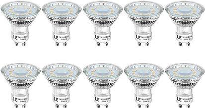 Lighting EVER Bombillas LED, GU10 4W Equivalente 50W Halógena 350 lumen Blanco Cálido, Paquete de 10