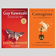 Enchantment: The Art of Changing Hearts, Minds, and Actions + Contagious: Why Things Catch On (Set Of 2 Books)