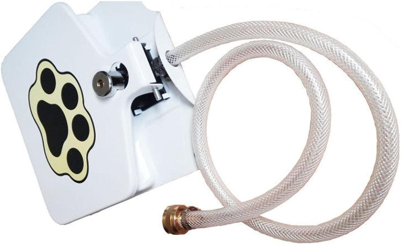Dingji Pet Filter, Outdoor Dog Pet Drinking Doggie Shelf Activated Water Fountain Water Dispenser
