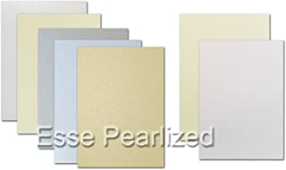 Neenah Esse Pearl Cocoa 105# Cover 8.5x11 - 25 Sheets