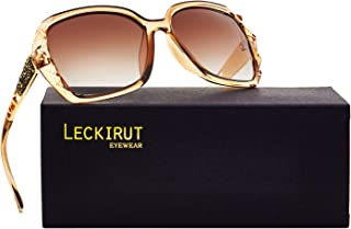 Leckirut Women Shades Classic Oversized Polarized...