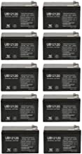 12V 12Ah F2 Costco 360 Eco Electric Scooter Battery - 10 Pack