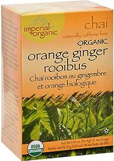 Organic Imperial Orange Ginger Rooibus Chai Tea 18 Bags