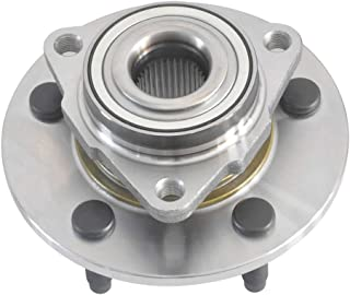 DRIVESTAR 515072 Front Wheel Hub and Bearing Assembly fits for Dodge Ram 1500 Trucks No ABS
