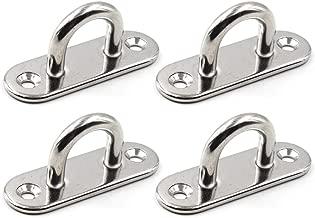 Sillas Colgantes IPOTCH Soporte de Yoga A/éreo de Metal Resistente Columpios Plateado Sillas Giratorias
