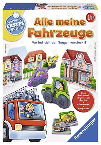 Ravensburger 24722 Spielen Fahrzeuge spieln und Lernen