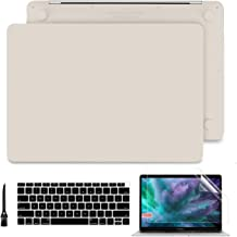 Case MacBook Pro 13 inch 2019 2018 2017 2016, Smooth Hard Shell Cover Keyboard Skin for MacBook Pro 13'' with/Non Touch Bar (2/4 Thunderbolt 3 Ports) Model A2159/A1989/A1706/A1708, Rock ash