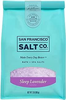 Sleep Lavender Bath Salts - 2 lb. Luxury Gift Bag by San Francisco Salt Company