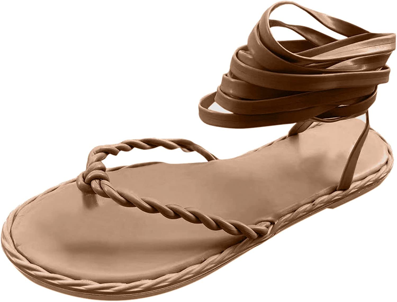 Fullwei Sandals for Women Flat New arrival Max 46% OFF Gladiator Su Casual