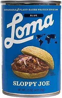 Loma Linda - Plant-Based - Sloppy Joe (15 oz.) - Non-GMO, Gluten Free, Kosher