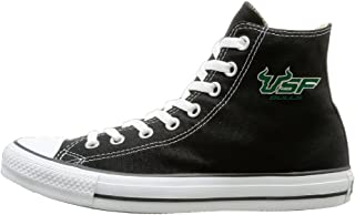 University of South Florida Bulls Logo Fashion Casual Canvas High-top Sneakers Unisex