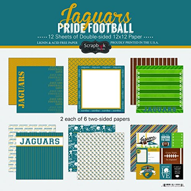 Scrapbook Customs Jaguars Pride Football Scrapbook Kit