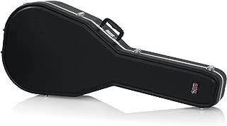 Gator Cases Deluxe Molded Guitar Case for Acoustic Guitars; Fits Jumbo Sized Acoustic Guitars (GC-JUMBO)