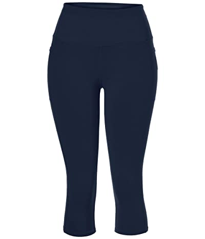 SKECHERS Go Walk Go Flex Capris (Navy) Women