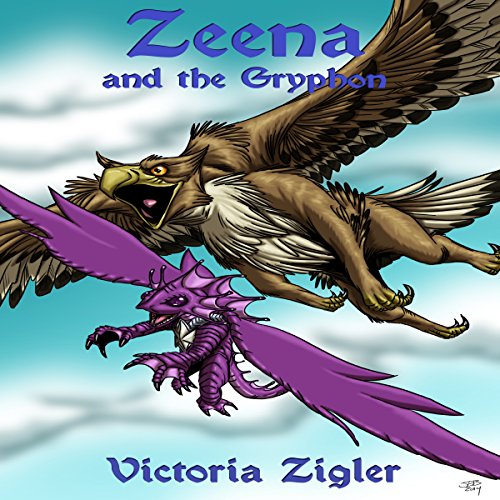 Zeena and the Gryphon cover art