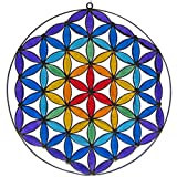 PANASIAM Suncatcher Flower of Life Chakra 1