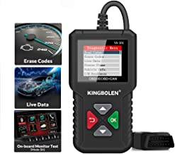 $24 » Sponsored Ad - KINGBOLEN OBD2 Scanner YA101 Code Reader,Universal Automotive Engine Light Check Scan Tool Checks O2 Sensor...