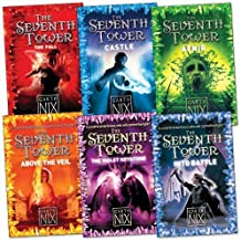 Garth Nix: The Seventh Tower Pack, 6 books, RRP £35.94 (Above The Veil; Into Battle; The Fall; Aenir; Castle; The Violet K...